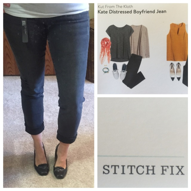Kate Distressed Boyfriend Jean (gray) by Kut From The Kloth...Stitch Fix