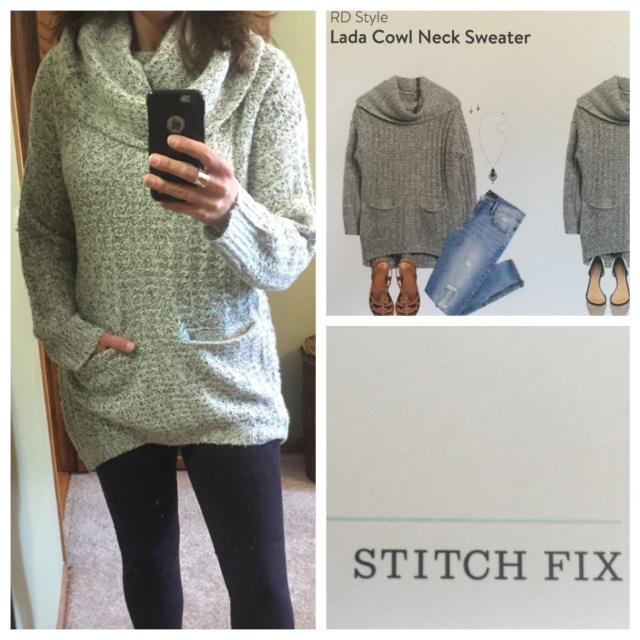 Lada Cowl Neck Sweater by RD Style...Stitch Fix