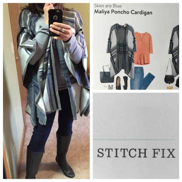 Maliya Poncho Cardigan by Skies are Blue...Stitch Fix