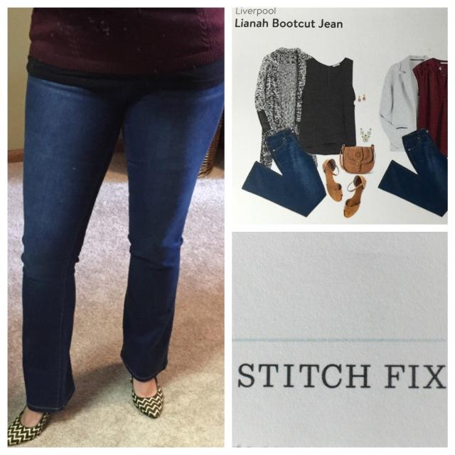 Lianah Bootcut Jean by Liverpool....Stitch Fix
